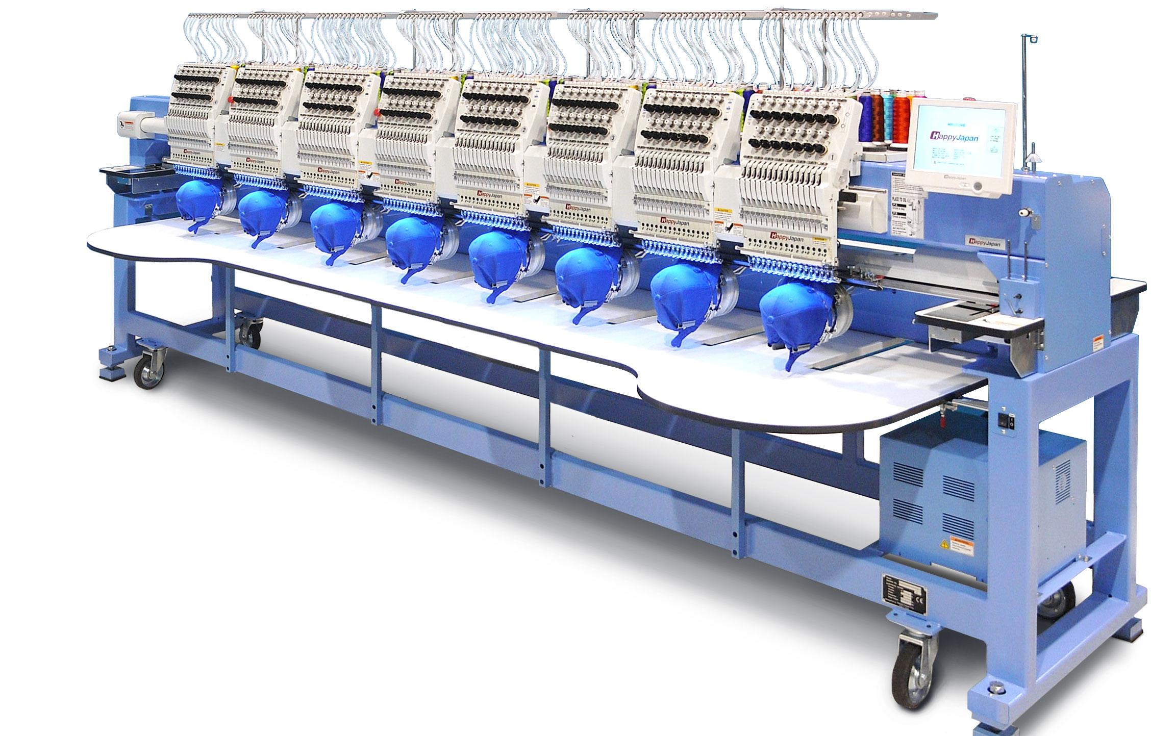Osmihlavý vyšívací stroj HAPPY HCR3-1508