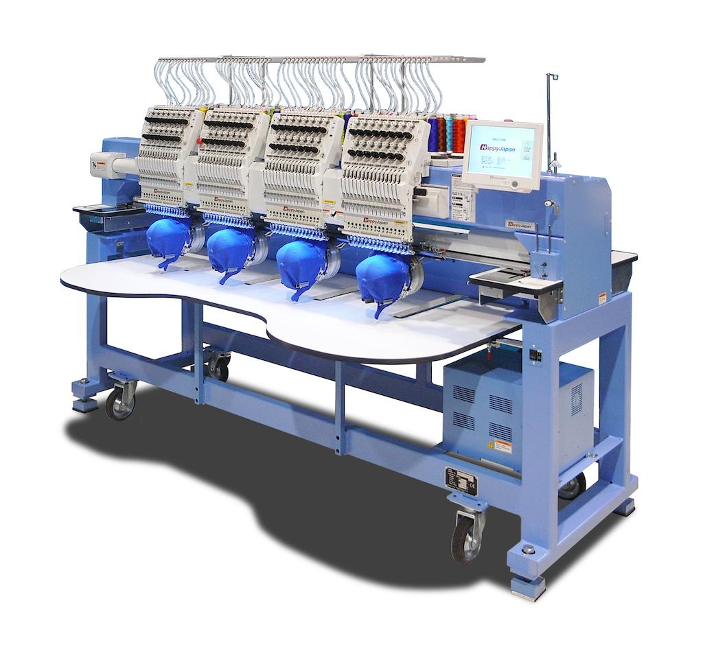 Čtyřhlavý vyšívací stroj HAPPY HCR3-1504