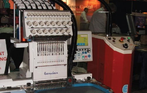 E Laser Embroidery Machine Barudan