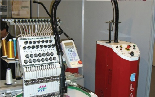 E Laser Embroidery Machine Tajima