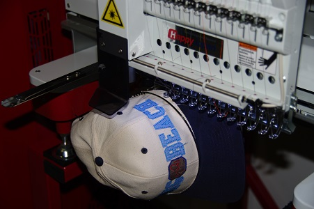 E Laser Embroidery Machine with Caps Frame